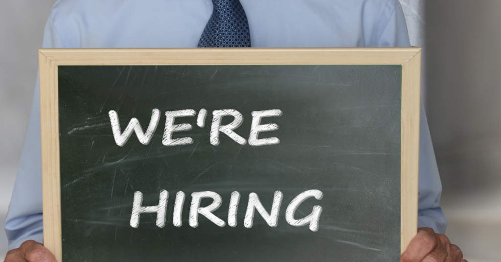 Working with a recruiting company